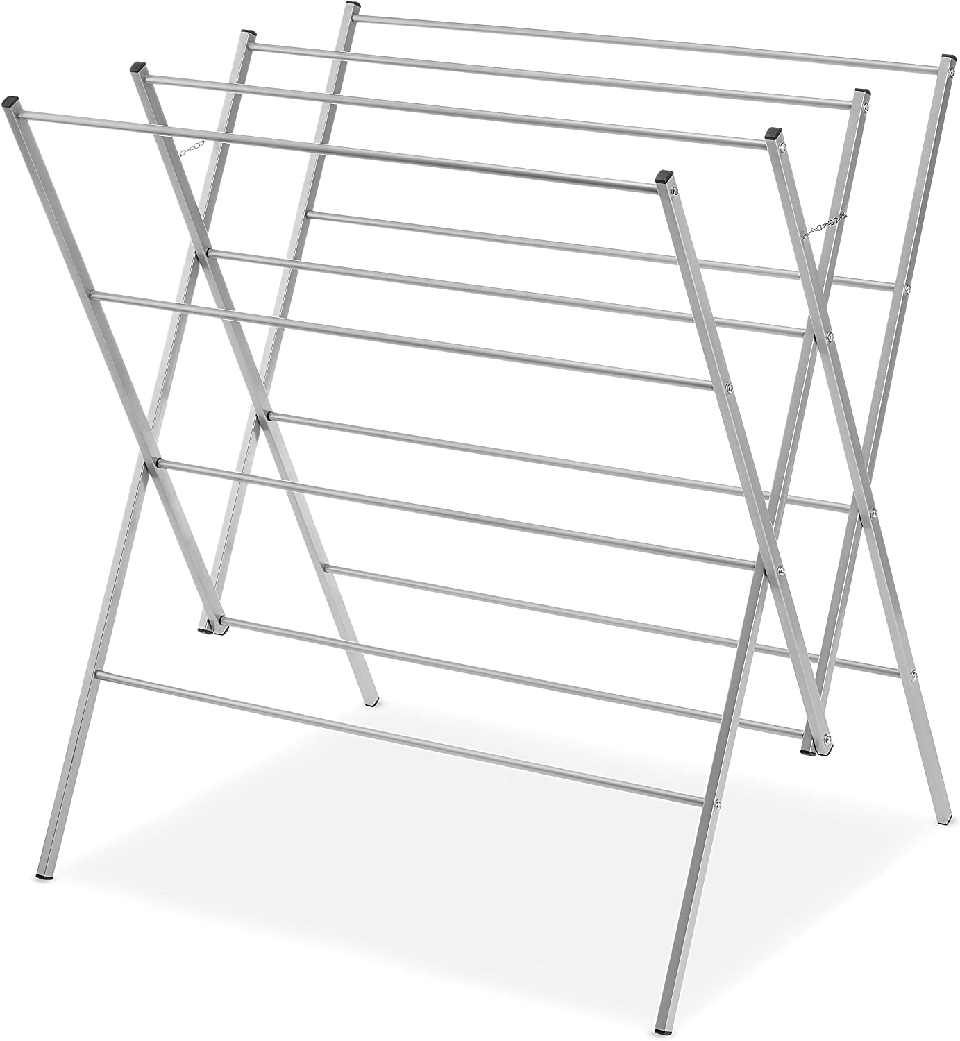 Whitmor Oversized Drying Rack, Silver 6779-8219