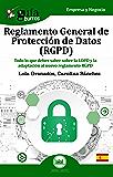 GuíaBurros Reglamento General de Protección de Datos  (RGPD): Todo lo que debes saber sobre la LOPD y la adaptación al nuevo reglamento RGPD (Spanish Edition)