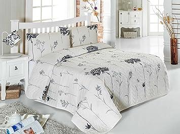 Amazon Lamodahome Flora Bedding Set 65 Cotton 35 Polyester