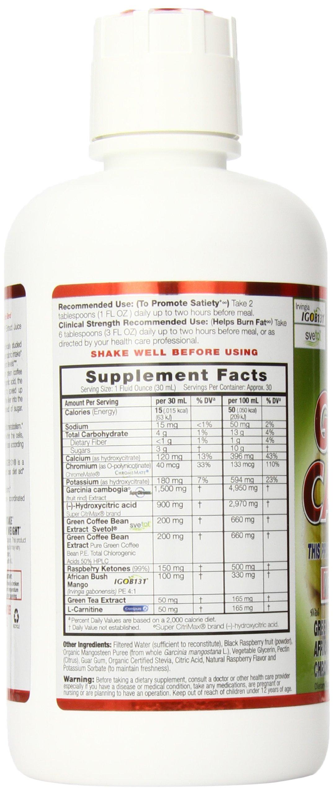 Dynamic Health Garcinia Cambogia Juice Blend, 30 Fluid Ounce