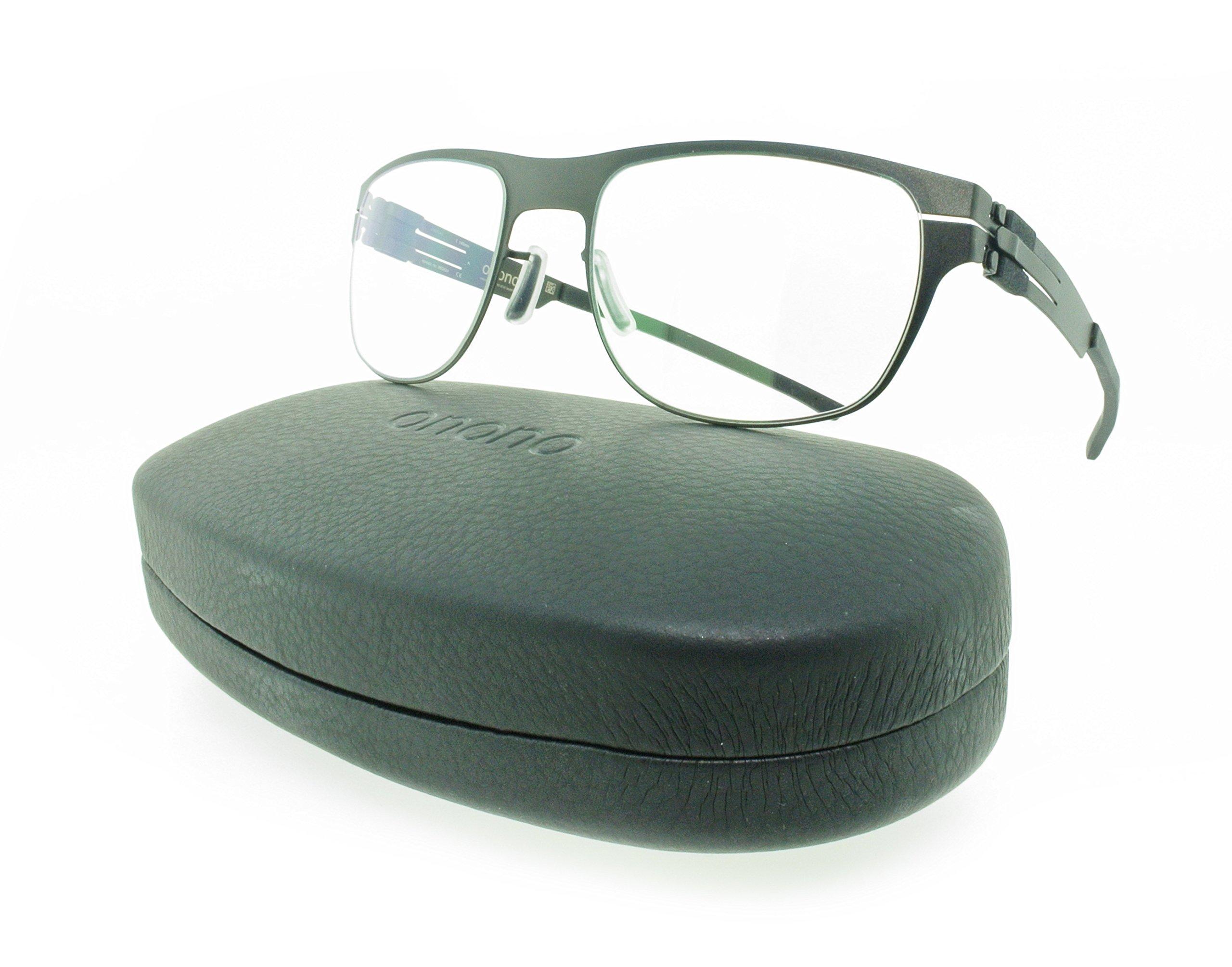 Brand New Authentic ONONO by ic! berlin Titanium Eyeglasses T36-16-4 (Black)