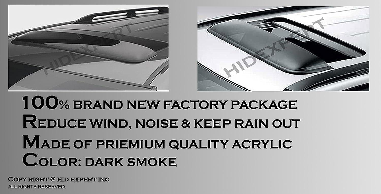 ICBEAMER 42 1062mm Windflector Classic Universal Sun Roof Wind Deflector w//Waterproof 3M Tape
