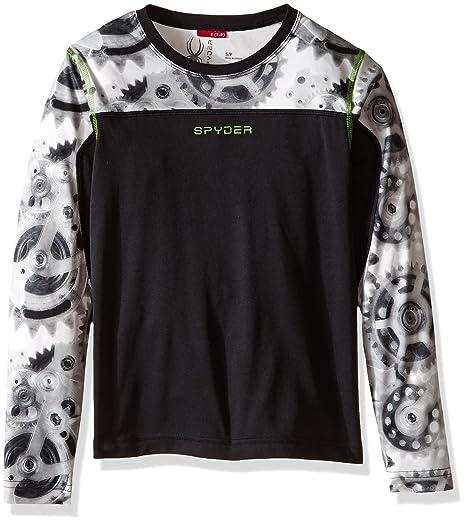 0317f45c6fef0 Amazon.com: Spyder Boys Havoc Long Sleeve tech Tee: Clothing