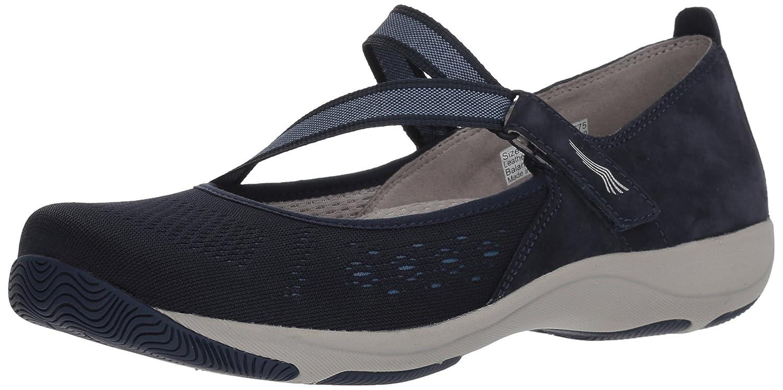 Dansko Women's Haven Sneaker B077VWWGTR 36 M EU (5.5-6 US)|Navy Suede
