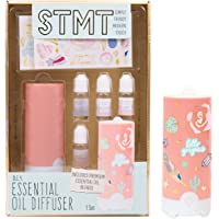 STMT DIY Essential Oil Diffuser by Horizon Group USA.Decorate Your Own Aromatherapy Fragrance Diffuser.4 Essential…