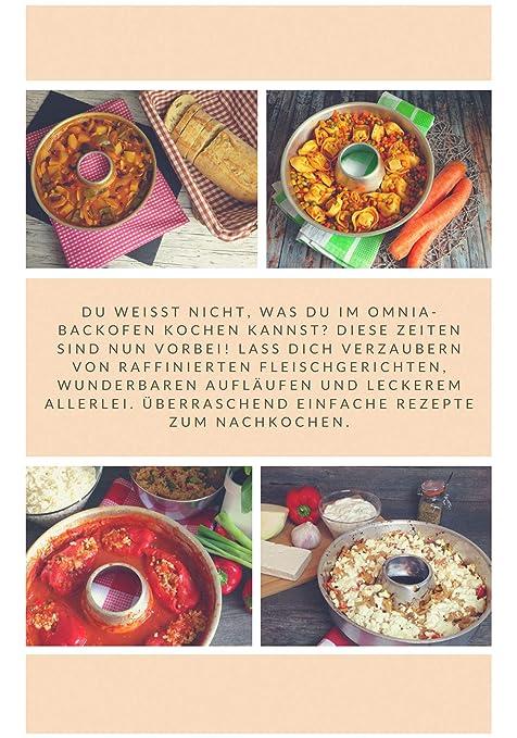 OMNIA-KITCHEN Omnia Backofen 2-teiliges Spar-Set Omnia Backofen Herzhaftes Kochbuch