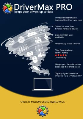 DriverMax PRO - Universal Driver Software for Windows 10-8-7-Vista-XP [Download]