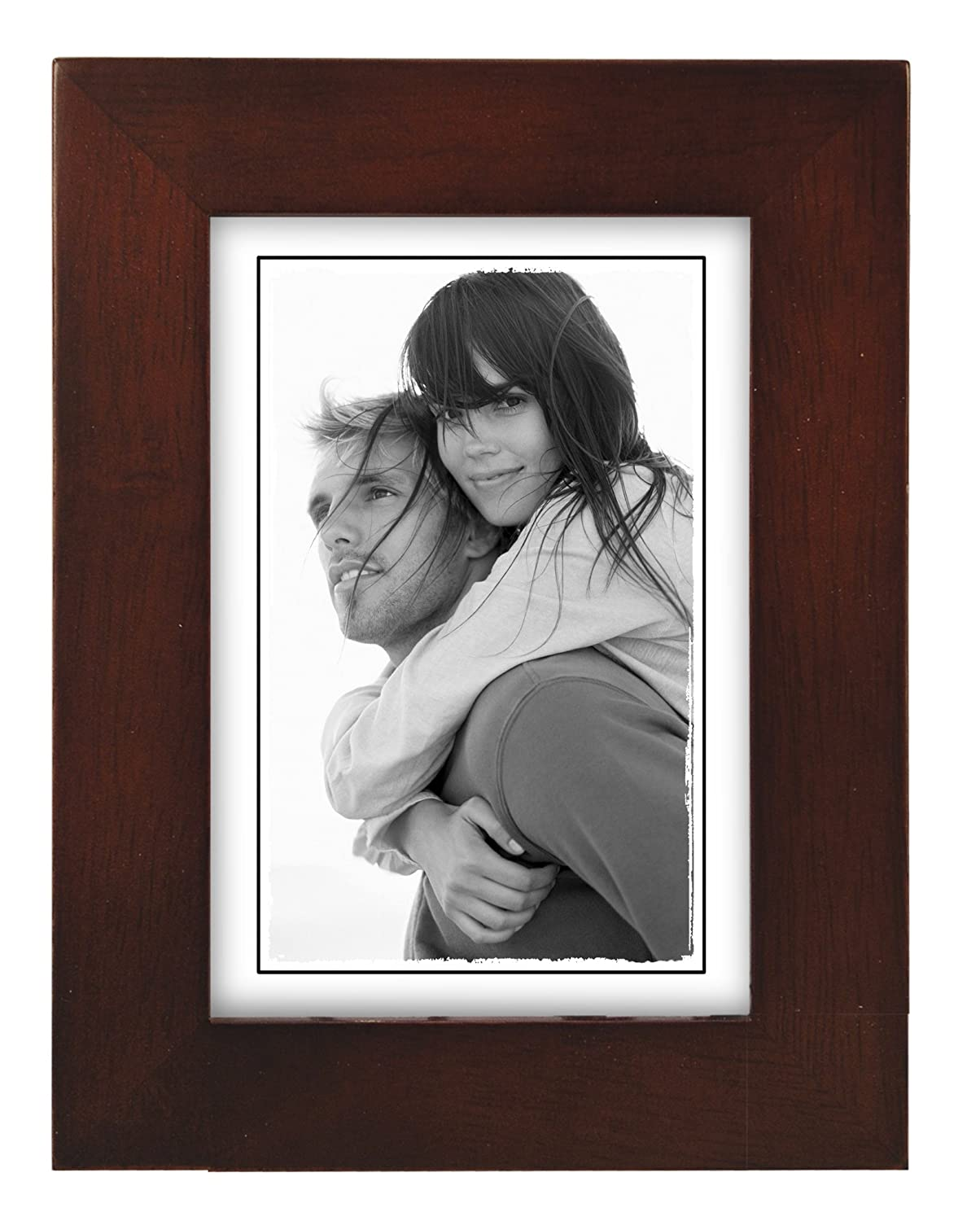 Amazon 8x10 black wood picture frame made to display amazon 8x10 black wood picture frame made to display pictures 8x10 wide molding real glass wall mount or table top single frames jeuxipadfo Gallery