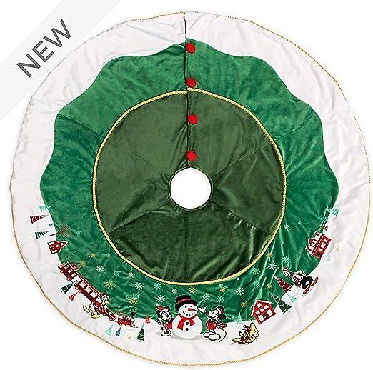 Disney Store - Falda para árbol de Navidad, diseño de Mickey y Sus ...