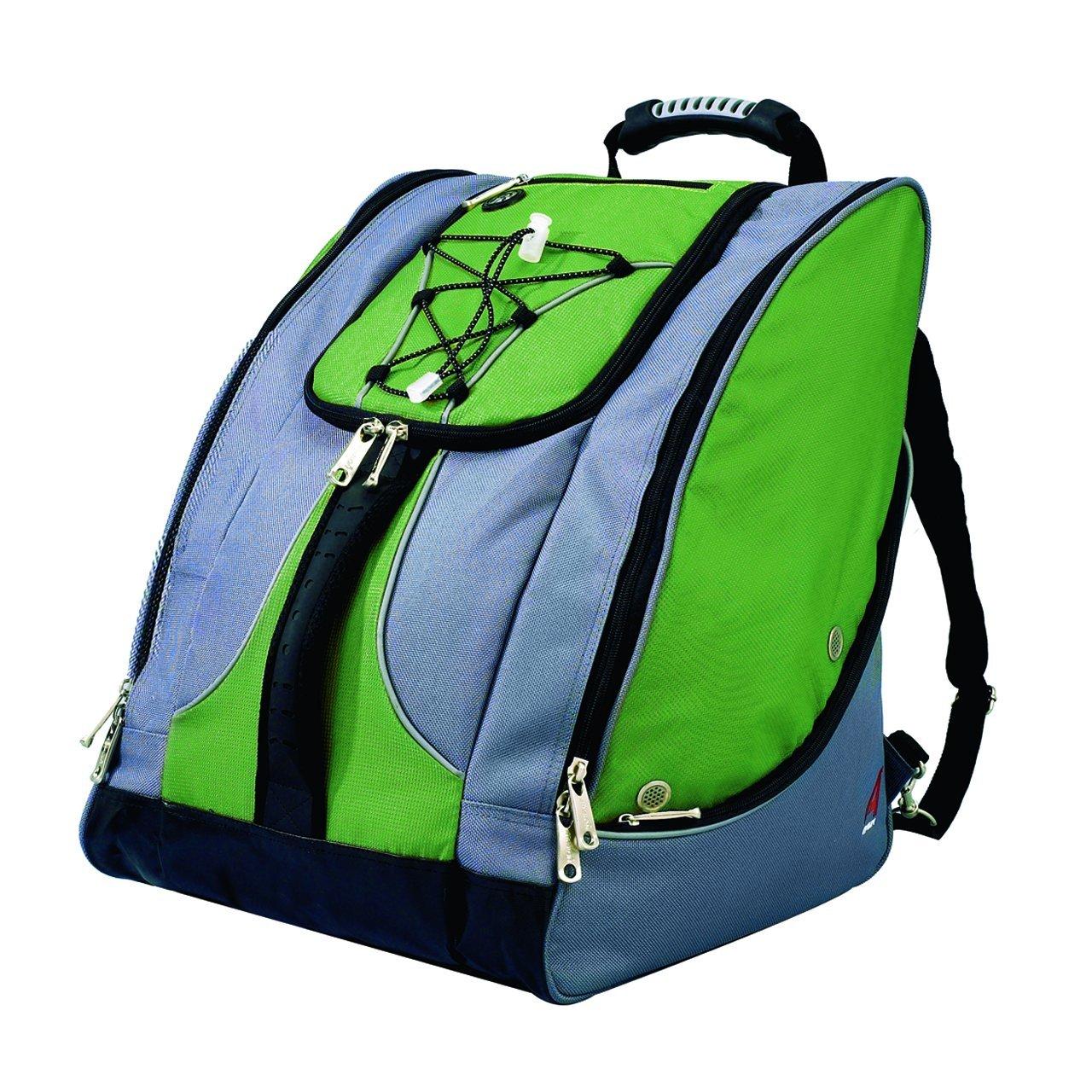 Athalon Everything Boot Bag (Green/Gray)