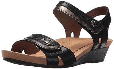 35bf58b68faa Amazon.com  Cobb Hill Women s Hollywood 2 Piece Sandal  Shoes