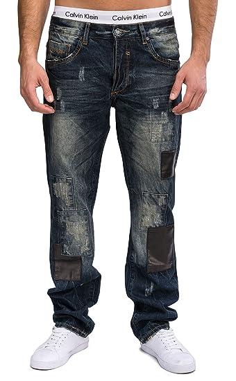 Hose Star Regular Jeans Herren Ausgefallene Id1311 FitAmazon Four 5RLq3A4j