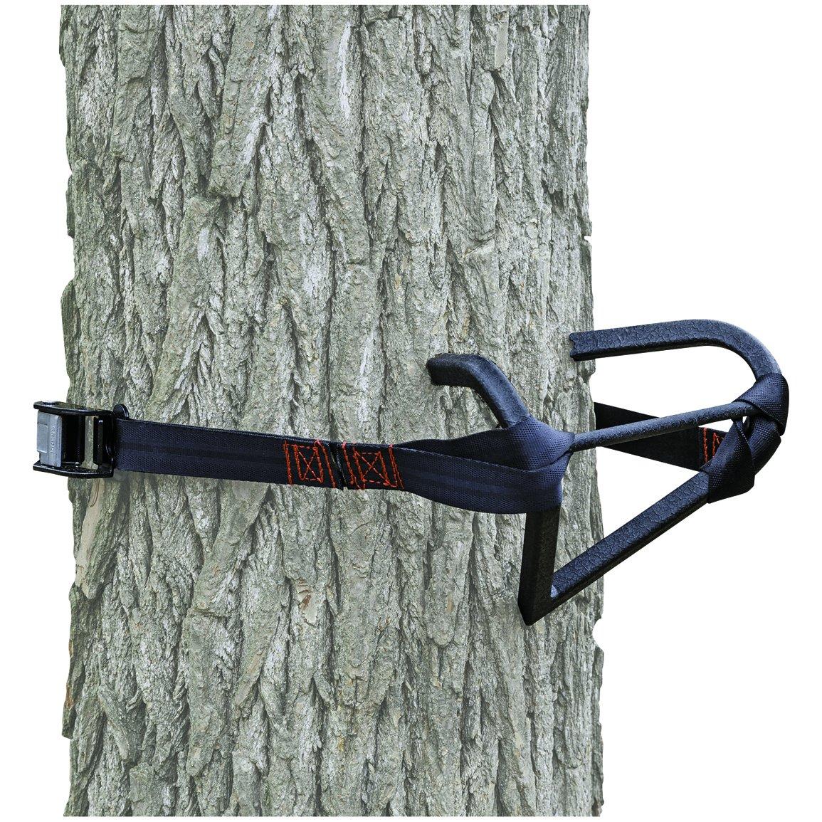 Primal tree stands strap on v treestep sporting goods for Deer stand steps