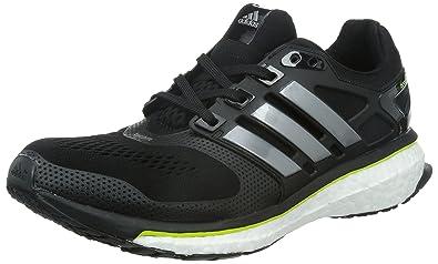 adidas Energy Boost ESM, Running Homme - Gris (Core Black/Core Black)