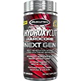 MuscleTech Hydroxycut Hardcore Next Gen, Scientifically Tested Weight Loss and Energy, Weight Loss Supplement, 100 Capsules