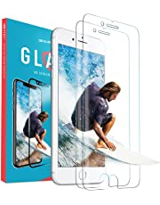 2x VIBE iPhone 8 Plus / 7 Plus Tempered Glass Screen Protector, Full Cover Anti Scratch Apple Shield Guard Film (2 Pack) 60% OFF - LIMITED TIME ONLY