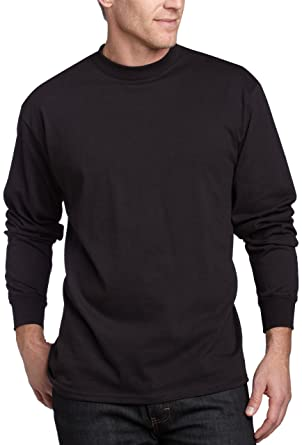 MJ Soffe Men's Long-Sleeve Cotton T-Shirt | Amazon.com