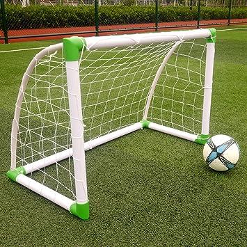 Z ZTDM Soccer Goal Post Net Post, Full Size 120 X 80 X 60cm,