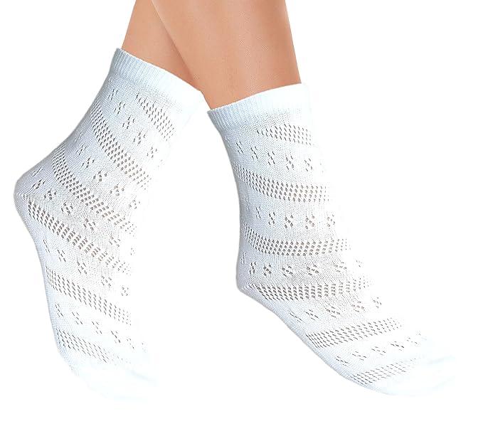 Calcetines tobillo maternidad Pointelle sin costura para la primavera: Amazon.es: Ropa y accesorios