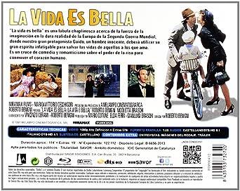 La Vida Es Bella [Blu-ray]: Amazon.es: Roberto Benigni, Roberto ...