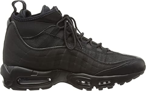 Nike Mens Air Max 95 Sneakerboot BlackBlack 806809 002 Size 8