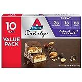 Atkins Endulge Treat, Caramel Nut Chew Bar,Value pack, 10 Bars