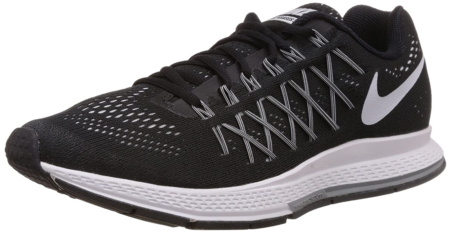 Nike Air Zoom Pegasus 32 - Zapatillas para Hombre 42 EU|Black/White-pure Platinum