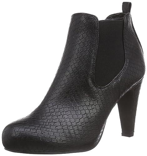 297e0133e94 La Strada Schwarze Kroko-Look Stiefeletten - Botas de Material sintético  Mujer, Color Negro, Talla 36: Amazon.es: Zapatos y complementos