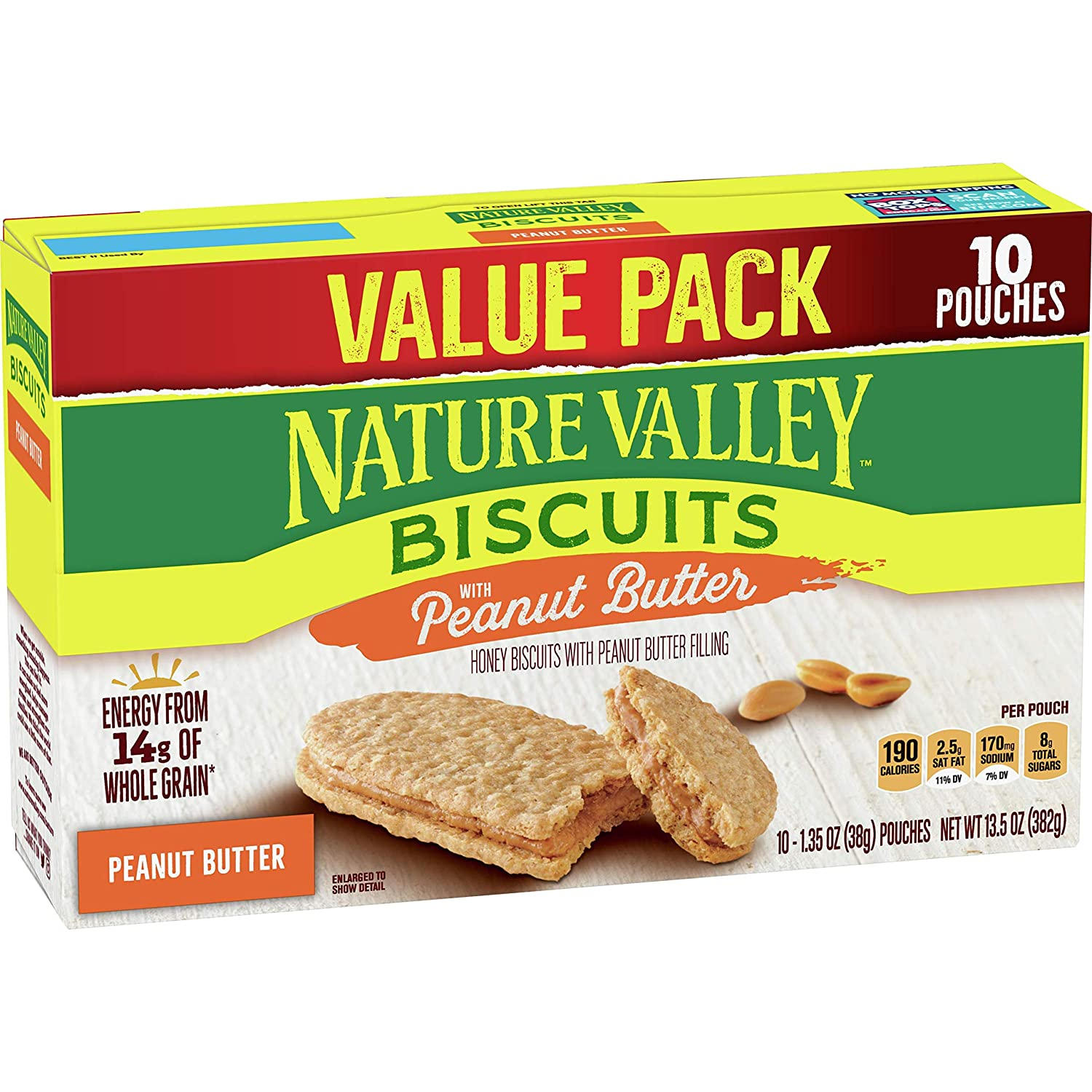 Nature Valley Biscuits With Peanut Butter, 13.5 oz