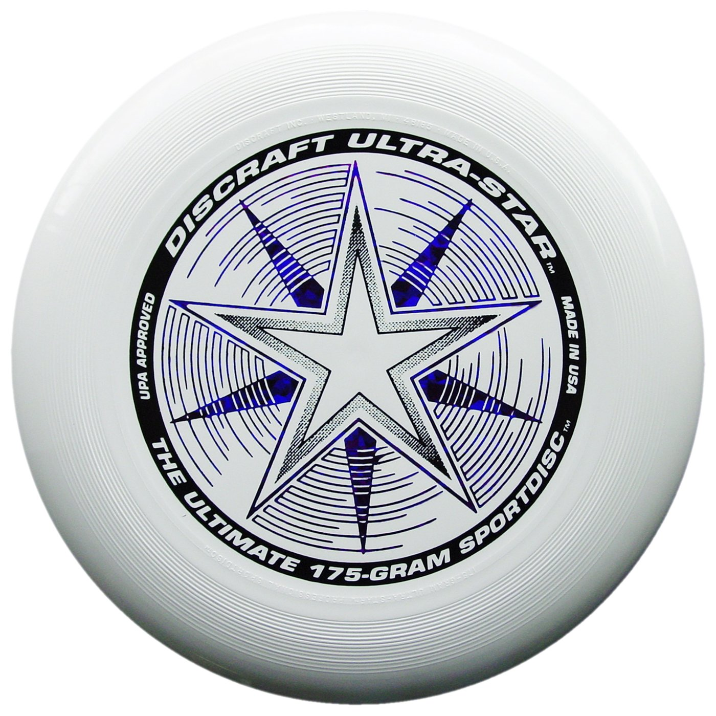 Discraft 175 gram Ultra Star Sport Disc, White with Deluxe Packaging by Discraft