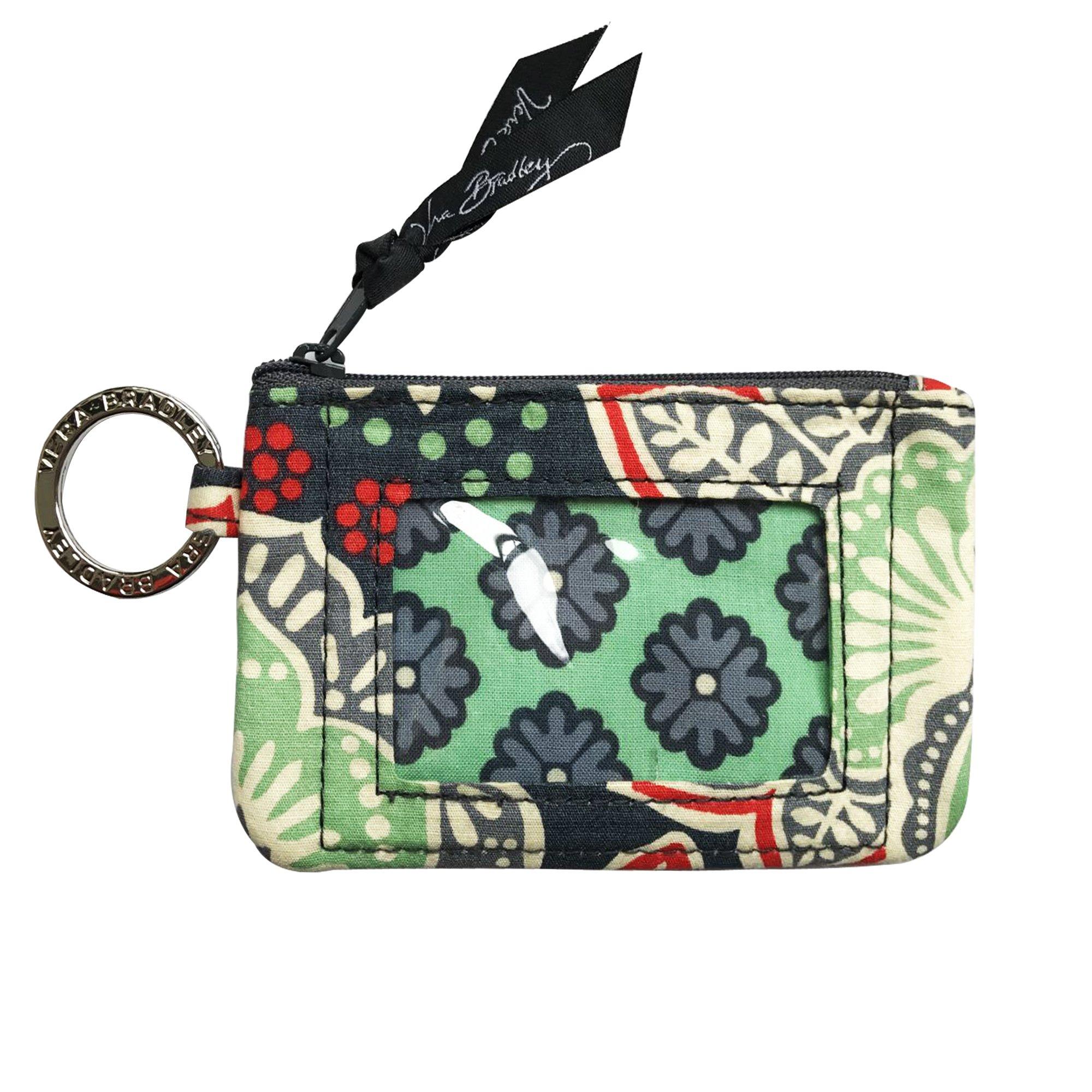 Vera Bradley Zip ID Card Case (Nomadic Floral)