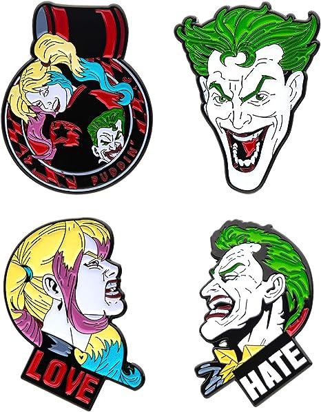 DC Comics Collectors Pins 4-Pack Batman Sales Brooches: Amazon.es: Deportes y aire libre