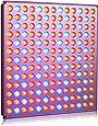 Roleadro Led Culture 45w 169 Leds Panneau Lampe de Croissance Floraison per Plante Horticole Hydroponique Lumière Lampe Germination Culture Indoor 276mm * 276mm * 14mm