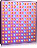 Roleadro 45W Led Grow Light 169 Leds with Red Blue Light for Indoor Plant Growing Hydronics Vegetable and Flower in Grow Box and Grow Tent(276mm*276mm*14mm)