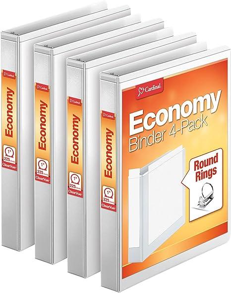 Amazon.com: Paquete económico de 4 archivadores de la ...