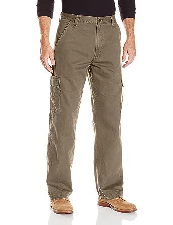6bec827b Wrangler Authentics Men's Authentics Classic Cargo Twill Pant at Amazon  Men's Clothing store: