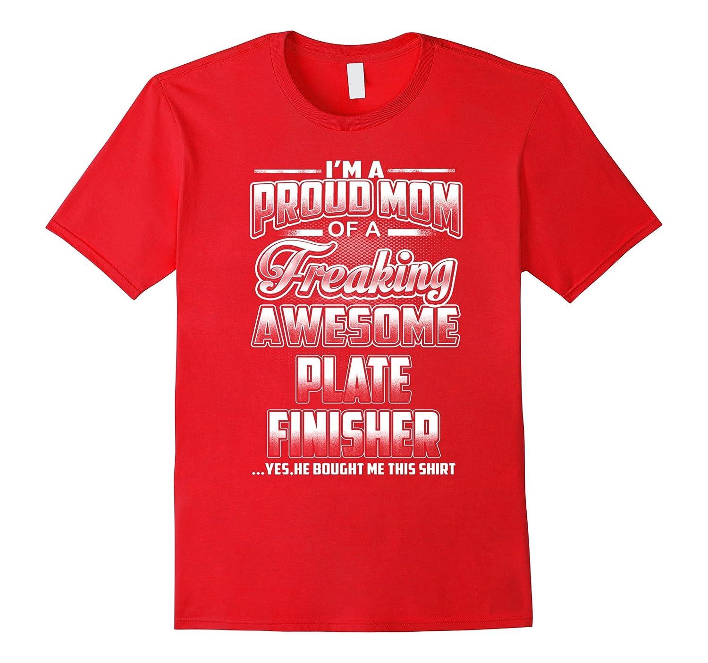 Plate Finisher Mom T-shirt-Art
