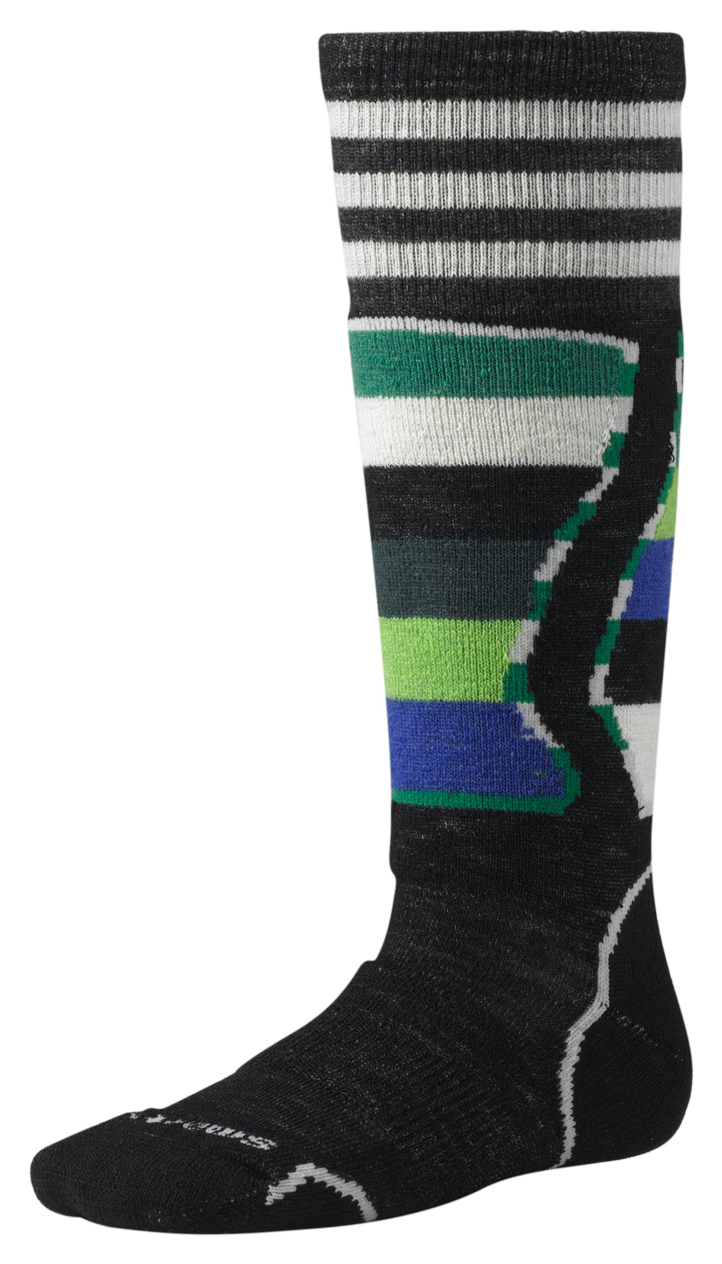 Smartwool Boys Snowboard Sock Black S -Kids