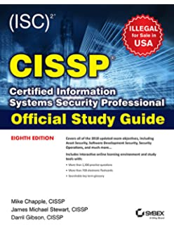 Buy Cissp Study Guide Book Online At Low Prices In India Cissp