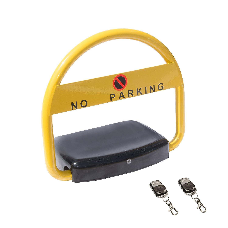 ALEKO PLAR01 Automatic Remote Control Parking Lock Carport Auto Parking Space Lock Stall Reserve Private Parking Barrier