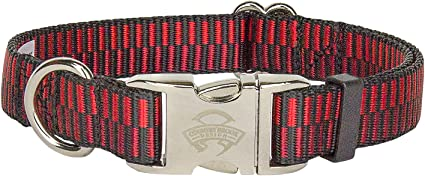 Country Brook Design® Deluxe Icy Regency Stripes Dog Collar