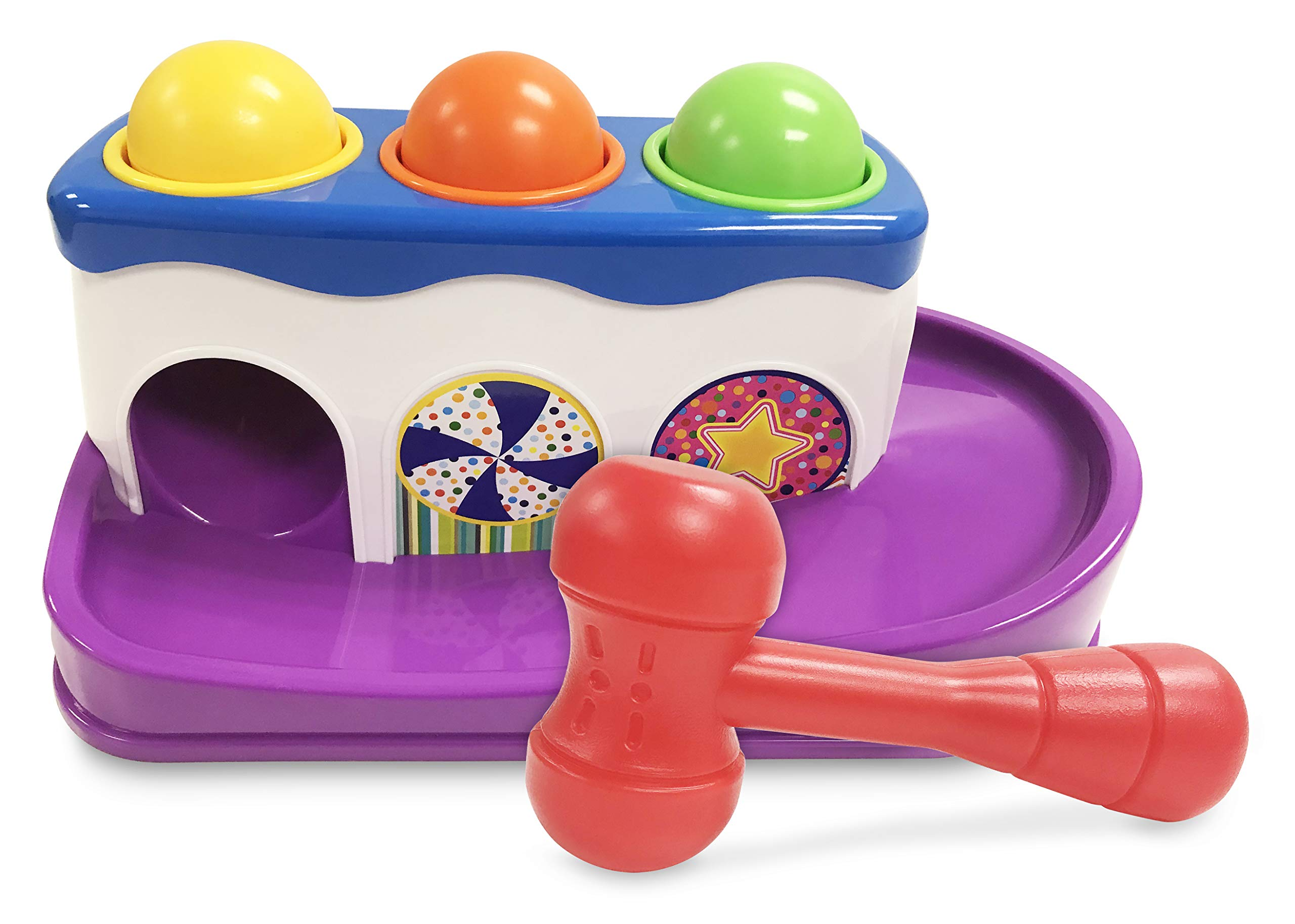 Jump'n Jive Hammer n Ball Tug Boat Pre-School Playset