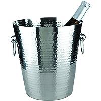 Hammered Metal Ice Bucket by Viski