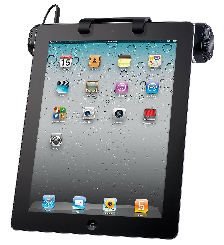 Logitech Tragbarer Lautsprecher fü r Apple iPad/iPad 2 und Tablets schwarz 984-000199 B0098PC6C8