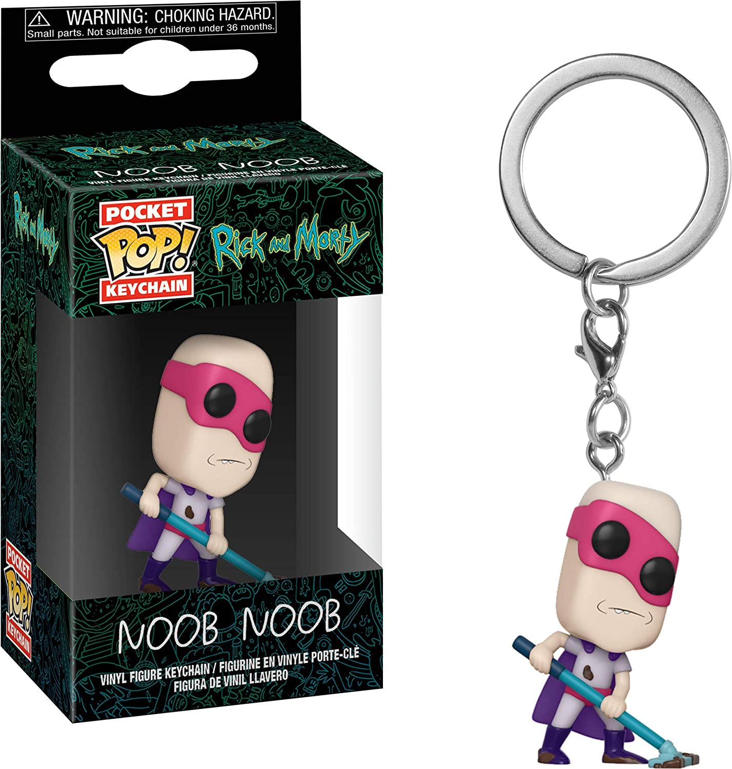 Funko Pop! Rick & Morty - Keychain Noob Noob
