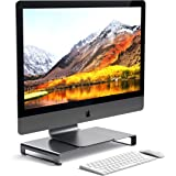 Satechi Base Universale Unibody in Alluminio per Monitor, MacBook PRO 2017, iMac PRO, Google Chromebook, Microsoft Surface, dell, ASUS e Altri (Grigio Siderale)