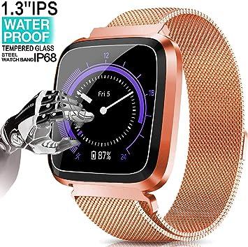 Yukefeng Smartwatch Multifunción Reloj Inteligente de ...