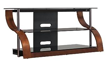Amazon Com Bell O Cw343 52 Tv Stand For Tvs Up To 55 Espresso