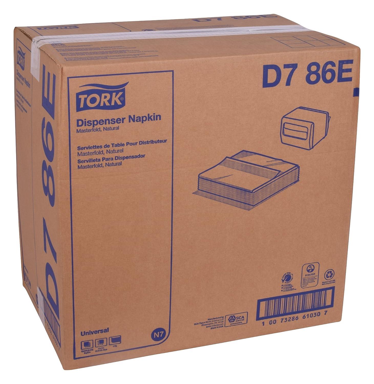 Amazon.com: Tork Universal D786E Masterfold Dispenser Napkin, Overall Embossed, 1-Ply, 12