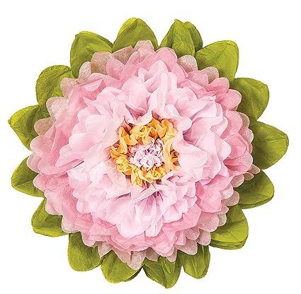 Amazon luna bazaar large tissue paper flower 15 inch rose luna bazaar large tissue paper flower 15 inch rose quartz pink pink mightylinksfo